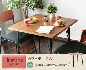 サイネリアカフェテーブル