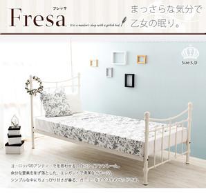 Fresa フレッサ アイアンフレームベッド S/D